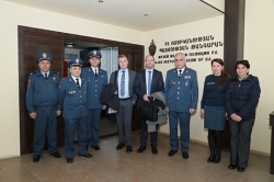 On February 20, 2018 the deputy head of the Strategic Police Matters Unit of the OSCE Transnational Threats Department, Thorsten Stodiek and Police Affairs Officer of Police Strategic Issues Division and Adviser of Police Issues and Police Reforms of the...