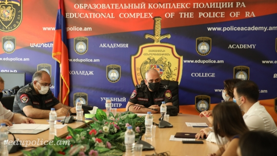 The selection procedure of the lecturers for Police Patrol officers was launched